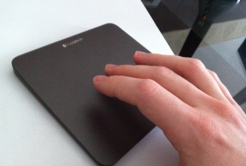 test logitech touchpad t650