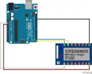 Cablage arduino - ESP8266 07